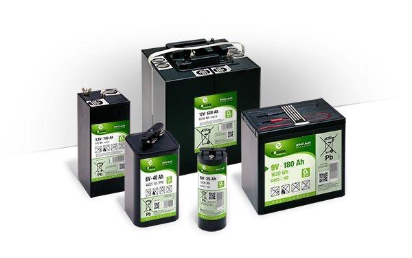 ZinkAir-Alkaline batterijen