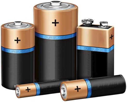 Non rechargeable batteries