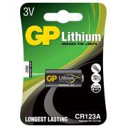 GP Lithium batt 3V 1400mAh CR123A 5021LC