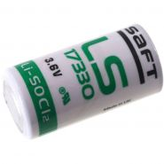 Saft Lithium batt 3,6V LS17330 2/3A basis