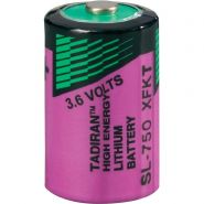 Tadiran Lithium batt 3,6V SL750S Xtra 1/2AA basis snelstart (per stuk verpakt)
