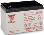 Yuasa Pb accu NP12-12 12V 12Ah L151 B98 H97,5mm faston6,3mm