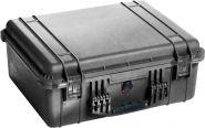Peli koffer 1550NF WL/NF black