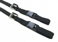 Aldebaran 1000 nylon straps (2 pc) L1200mm W20 mm plastic clip closure
