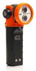 Acculux handlamp HL 25EX AtexZone1,Z21 bk-oranje inc.1xLi-ion